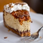 Toffee Cheesecake with Caramel