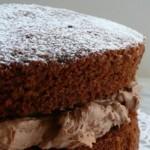 Light and Fluffy: Chocolate Victoria Sponge Cake