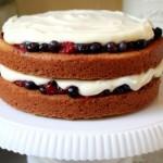 Lemon Berry Shortcake Cake
