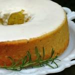 Lemon Rosemary Olive Oil Cake