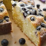 Blueberry and Ricotta Cake