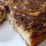 Marble Cake: Banana Cake with Chocolate