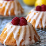 Mini Lemon Bundt Cakes