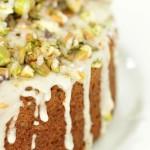 Chai and Pistachio Cake