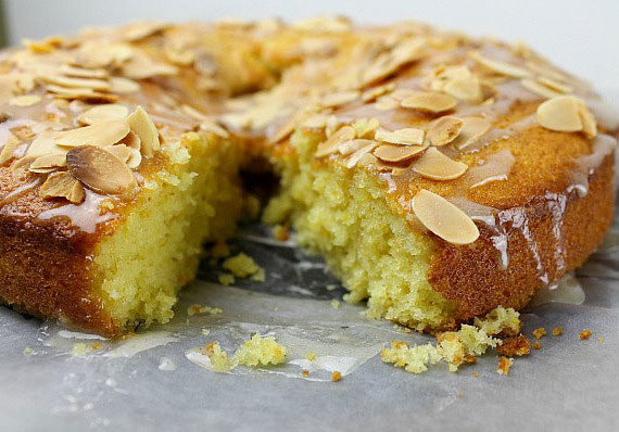 Almond Olive Oil Cake Recipe