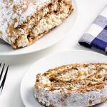 Walnut Cake Recipe - Walnut Roll Cake