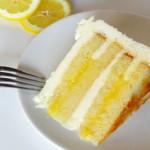 Lemon Cake with Lemon Curd Filling