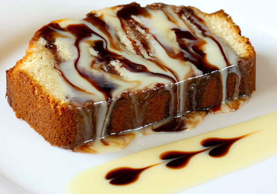 Pound Cake with Sweetened Condensed-Milk