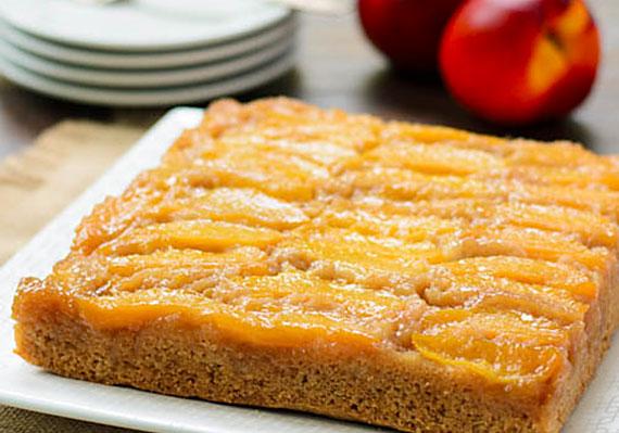 Nectarine-Upside-Down-Cake