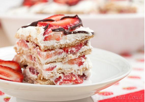 Strawberry-Icebox-Cake