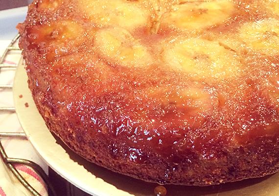Banana-Upside-down-Cake