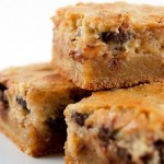 Pecan Chocolate Chip Gooey Butter Cake - yes please