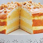 Mango Mousse Cake Recipe - a summery, tropical treat